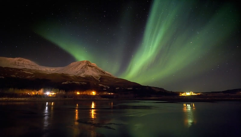 Northern lights official image