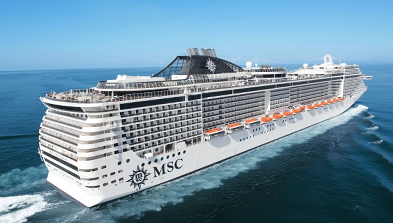 MSC Fantasia - Aerial-king travel